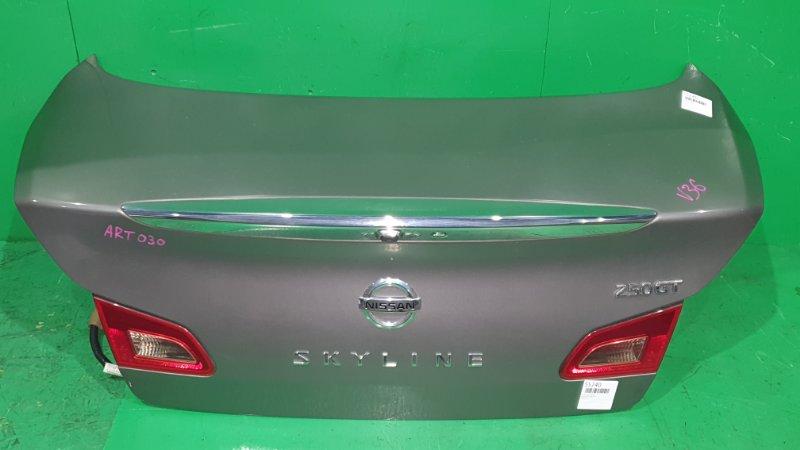 Крышка багажника Nissan Skyline V36