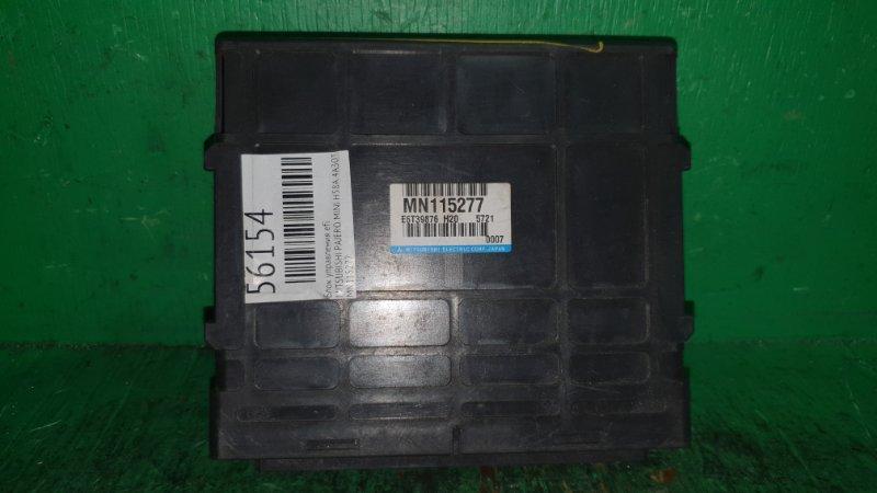 Блок управления efi Mitsubishi Pajero Mini H58A 4A30T