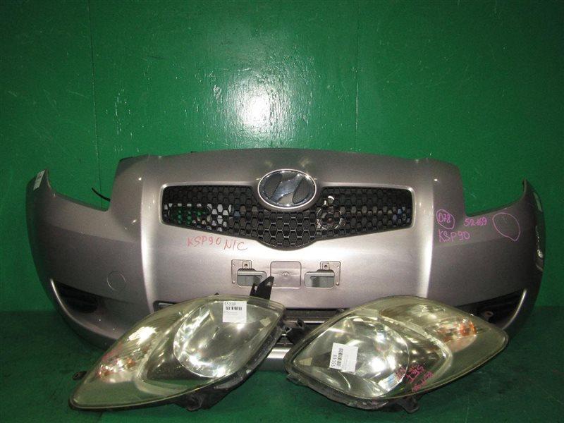 Nose cut Toyota Vitz KSP90 1KR-FE 52-169