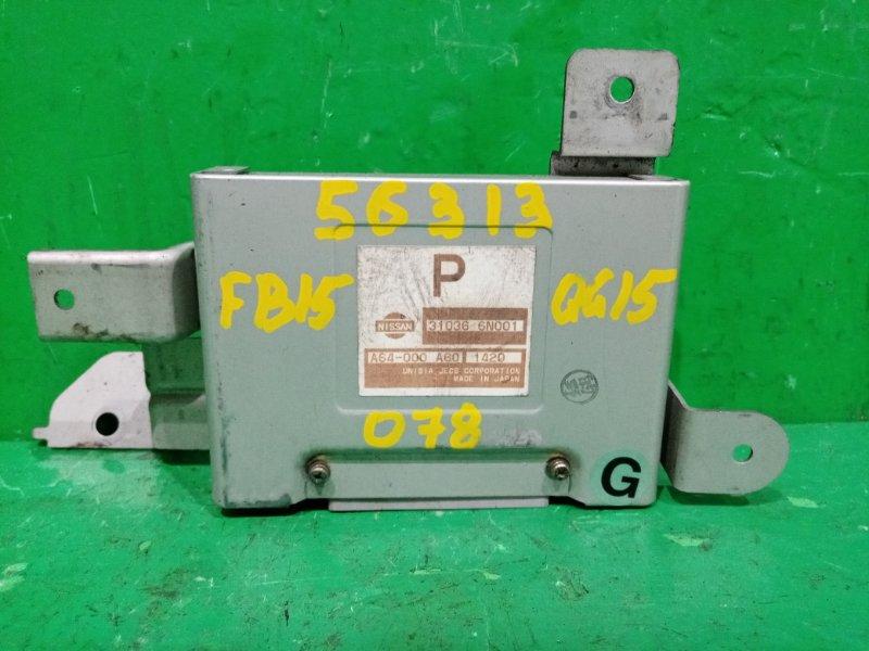 Блок управления автоматом Nissan Sunny FB15 QG15DE