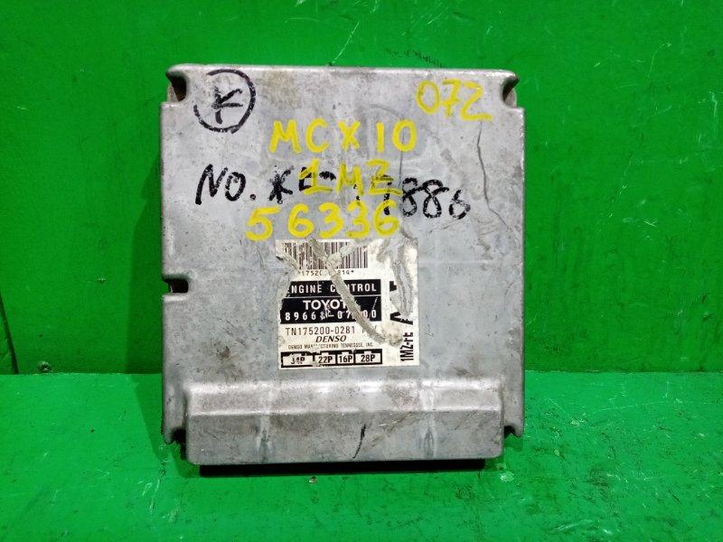 Блок управления efi Toyota Avalon MCX10 1MZ-FE 89661-07200