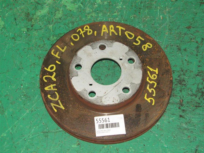 Тормозной диск Toyota Rav4 ZCA25 передний