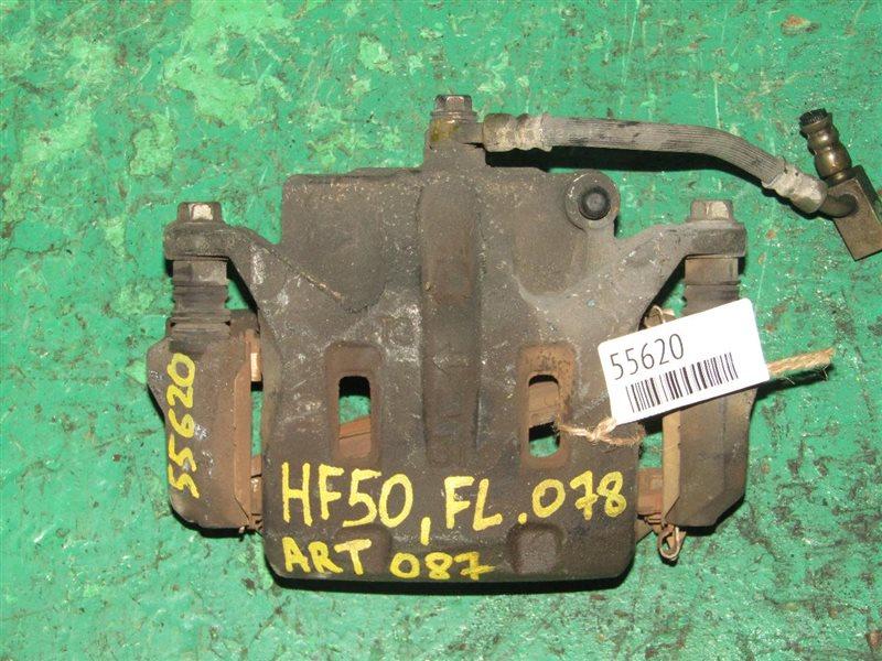 Суппорт Nissan Cima HF50 передний левый