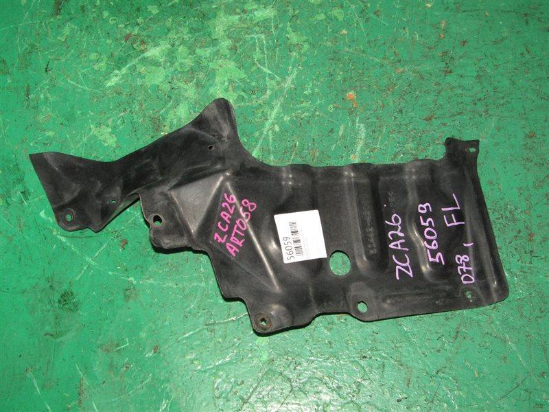 Защита двигателя Toyota Rav4 ZCA26 передняя левая