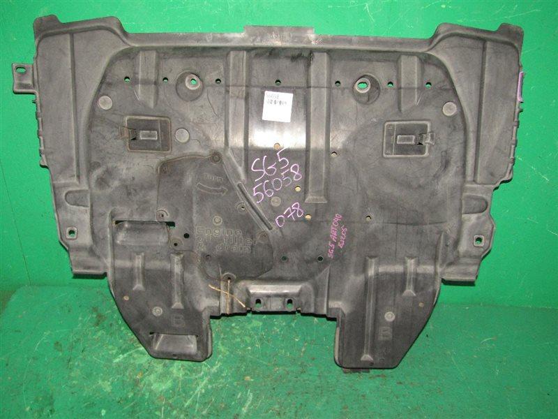 Защита двигателя Subaru Forester SG5 EJ205 передняя