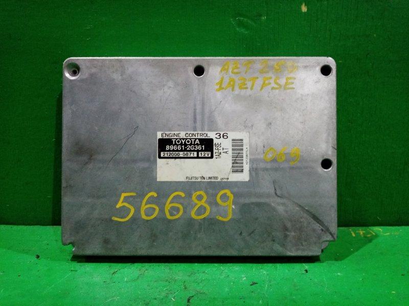 Блок управления efi Toyota Avensis AZT250 1AZ-FSE 89661-2G361