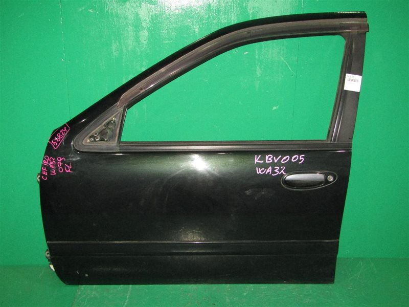 Дверь Nissan Cefiro Wagon WA32 передняя левая