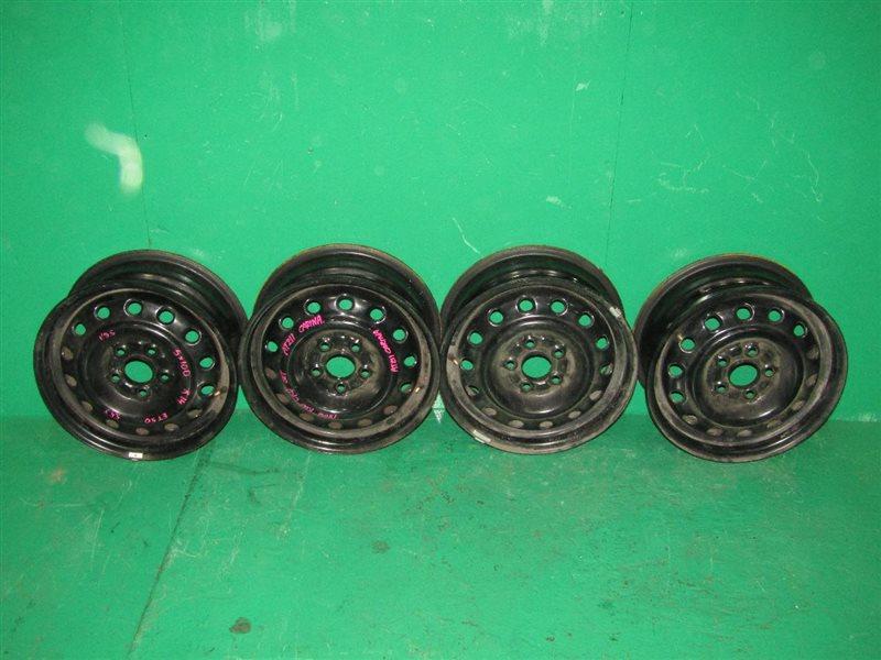 Диски колесные Toyota Carina AT211 R14, 5*100, ET50, 5.5J, ЦО 56.1