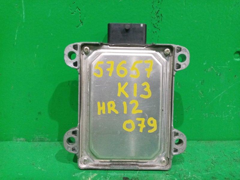 Блок управления автоматом Nissan March K13 HR12DE 31036-1HB7A