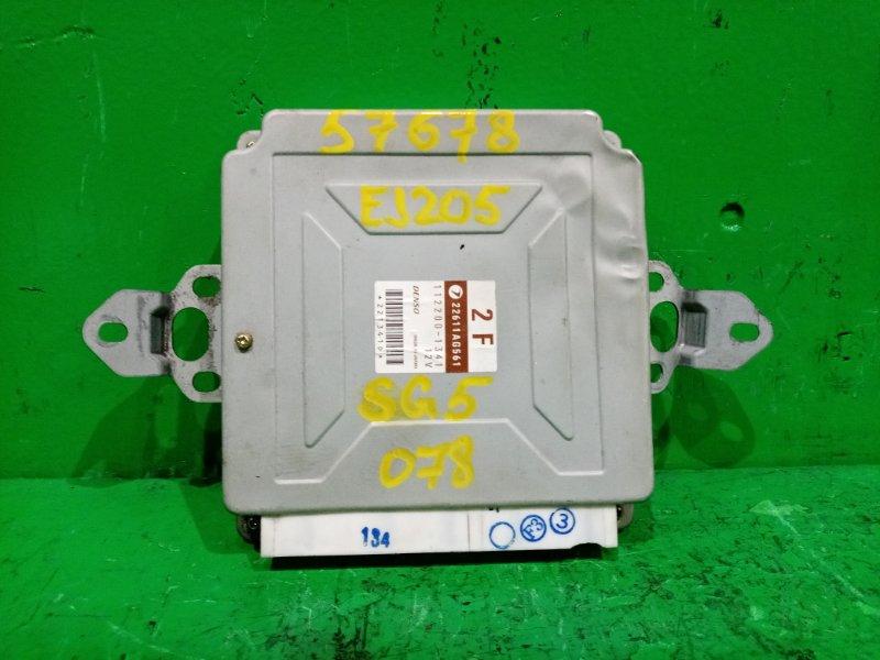 Блок управления efi Subaru Forester SG5 EJ205 22611-AG561