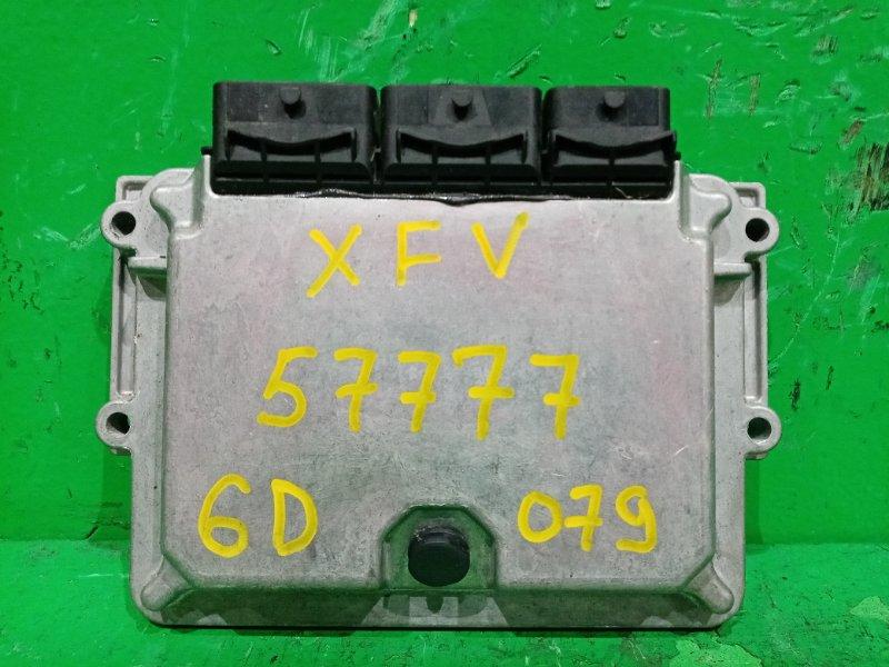 Блок управления efi Peugeot 407 6D XFV