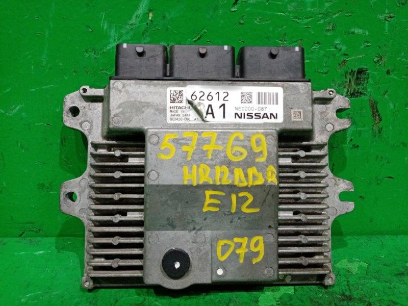 Блок управления efi Nissan Note E12 HR12DDR