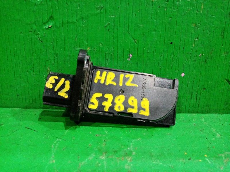 Расходомер воздушный Nissan Note E12 HR12DDR 22680-3VA0A