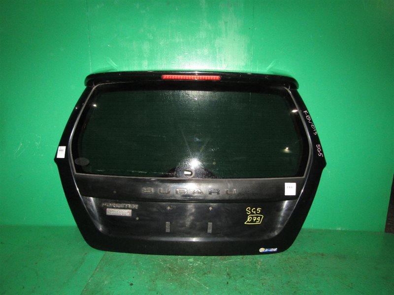 Дверь задняя Subaru Forester SG5 02.2002