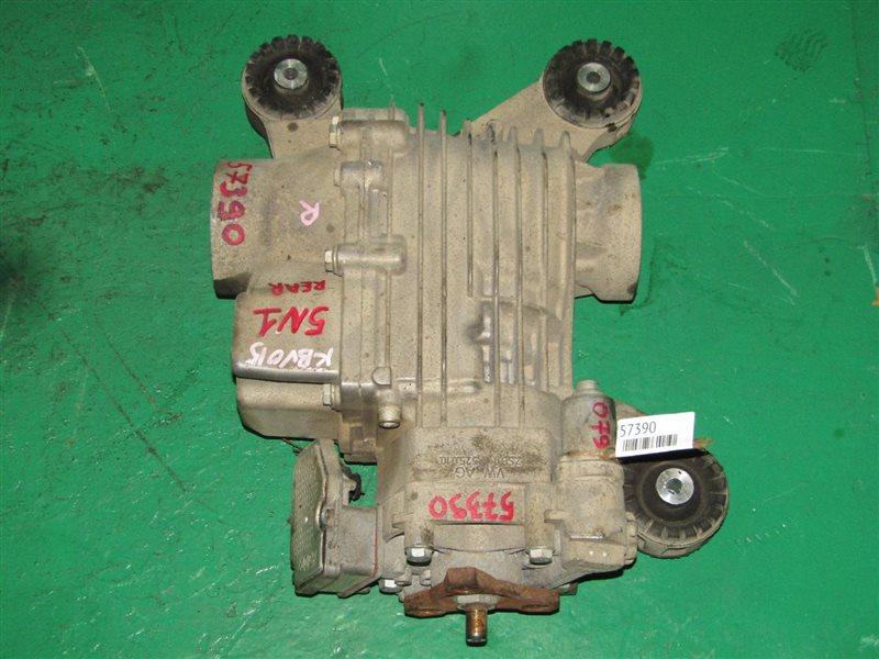 Редуктор Volkswagen Tiguan 5N1 CAW задний 0AY907554C