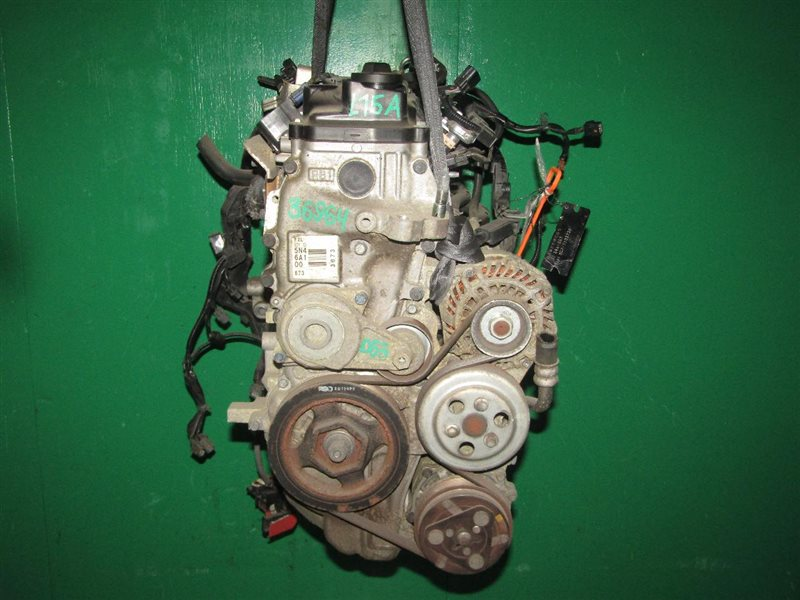 Двигатель Honda Fit Shuttle GG7 L15A 7105081