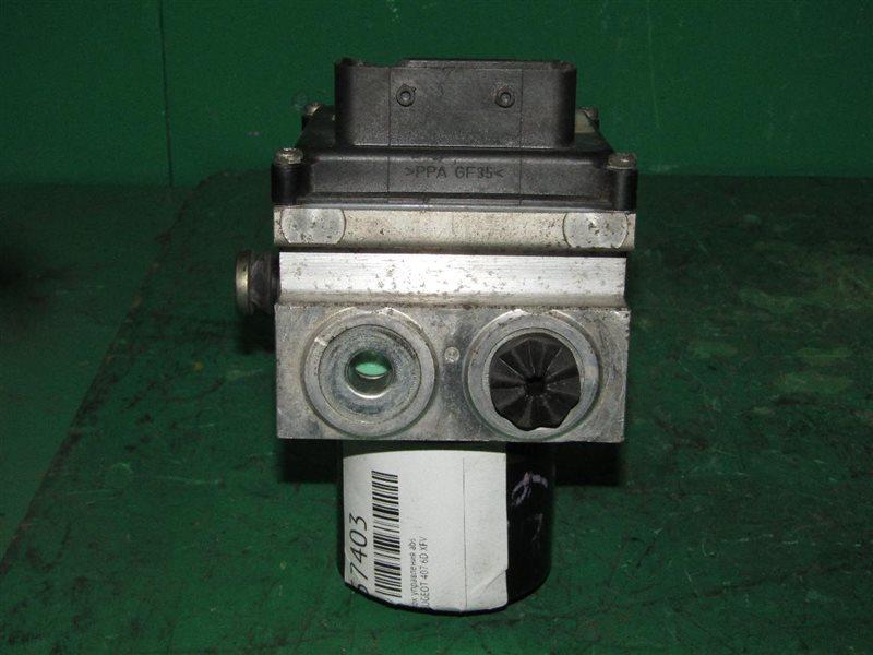 Блок управления abs Peugeot 407 6D XFV