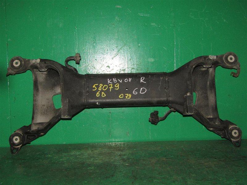 Балка подвески Peugeot 407 6D XFV задняя