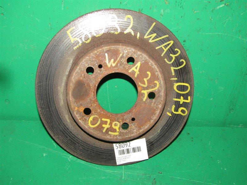 Тормозной диск Nissan Cefiro A32 задний