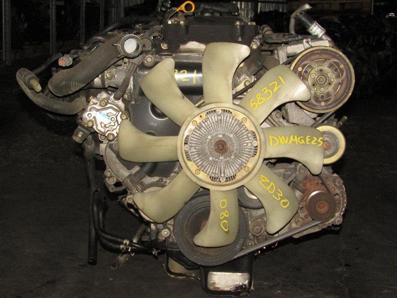 Двигатель Nissan Caravan DWMGE25 ZD30DD 038983