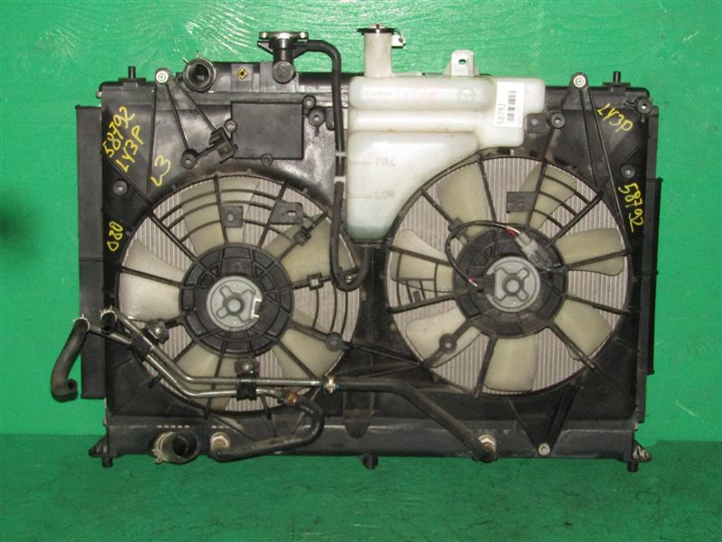 Радиатор основной Mazda Mpv LY3P L3-VE