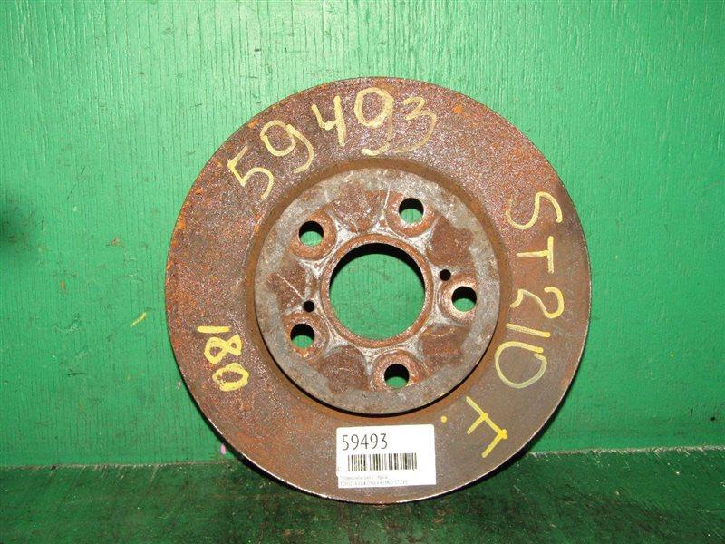 Тормозной диск Toyota Corona Premio ST210 передний