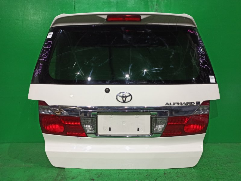 Дверь задняя Toyota Alphard ANH10 58-8