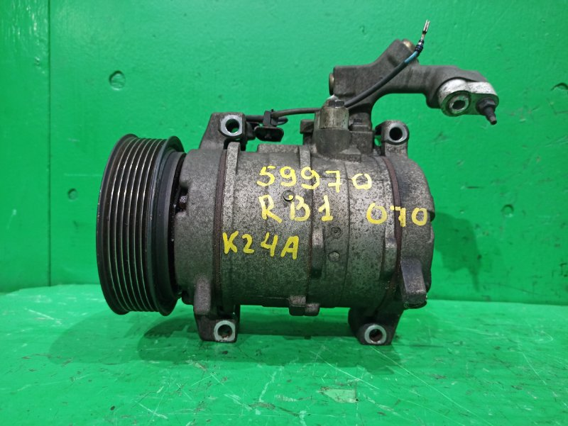 Компрессор кондиционера Honda Odyssey RB1 K24A 5504373
