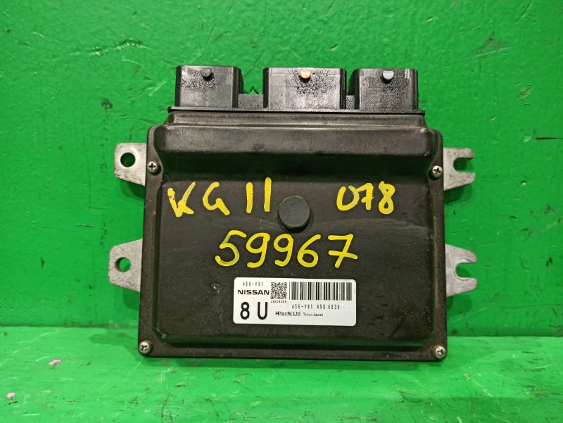 Блок управления efi Nissan Bluebird Sylphy KG11 MR20DE A56 Y91 A5G