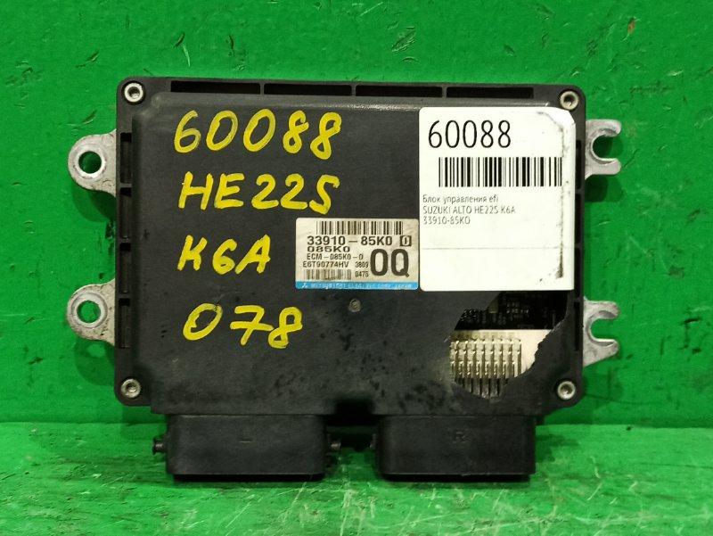 Блок управления efi Suzuki Alto HE22S K6A 33910-85K00