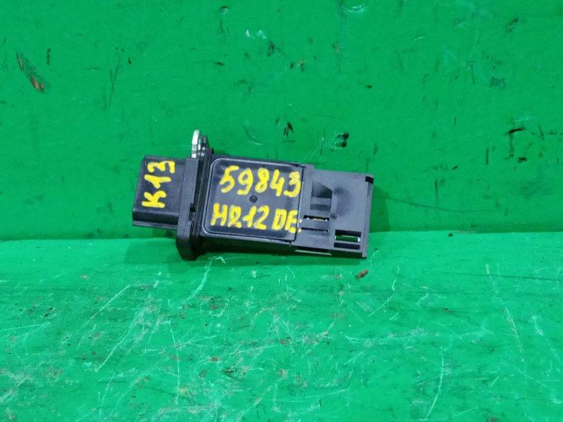 Расходомер воздушный Nissan March K13 HR12DE 22680-7S000