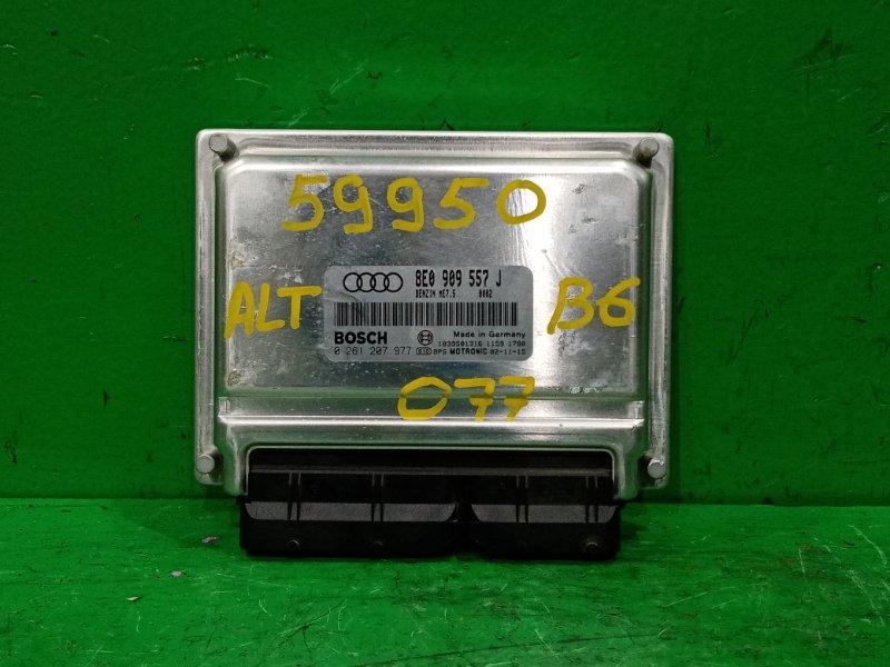 Блок управления efi Audi A4 B6 ALT