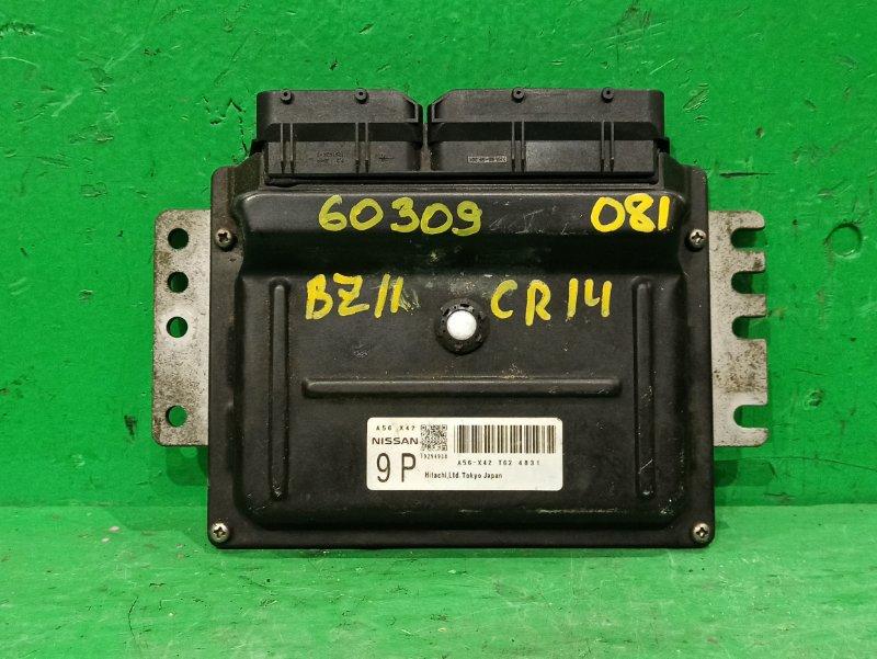 Блок управления efi Nissan Cube BZ11 CR14DE A56-X42 T62
