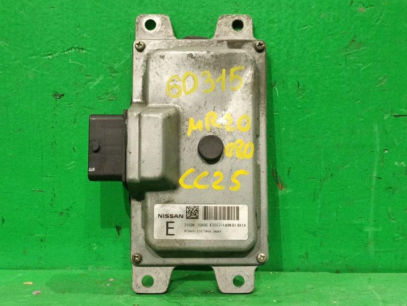 Блок управления автоматом Nissan Serena C25 MR20DE 31036-1GK0C