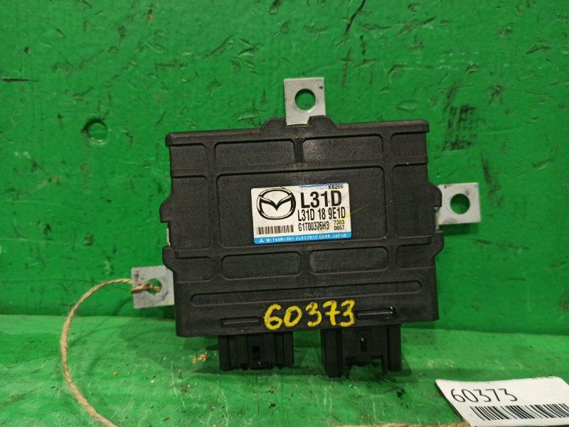 Блок управления автоматом Mazda Atenza GY3W L3-VE L31D189E1D, G1T00376H3