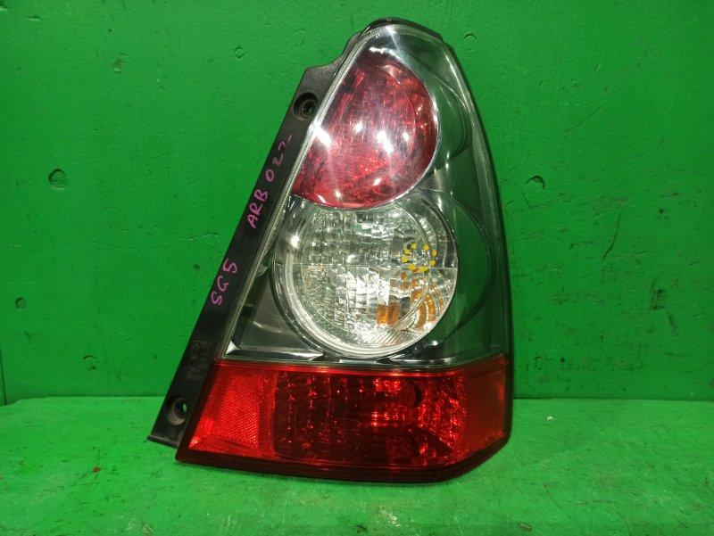 Стоп-сигнал Subaru Forester SG5 01.2005 задний правый 220-20892