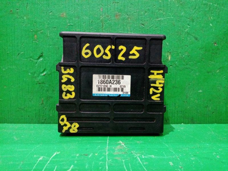Блок управления efi Mitsubishi Minica H42V 3G83 1860A236, E2T71890H