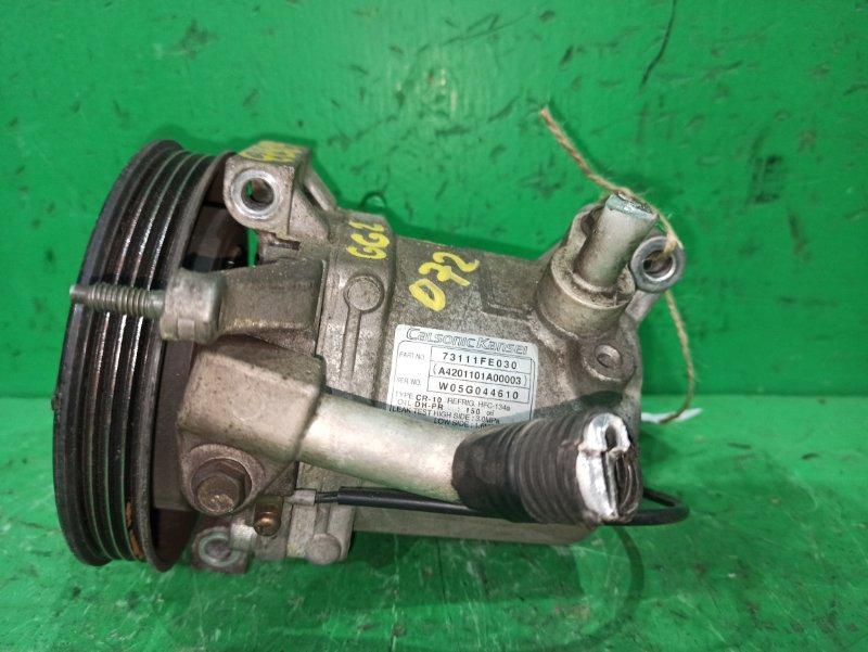 Компрессор кондиционера Subaru Impreza GG2 EJ152 73111-FE030