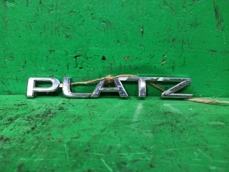 Эмблема Toyota Platz SCP11 задняя