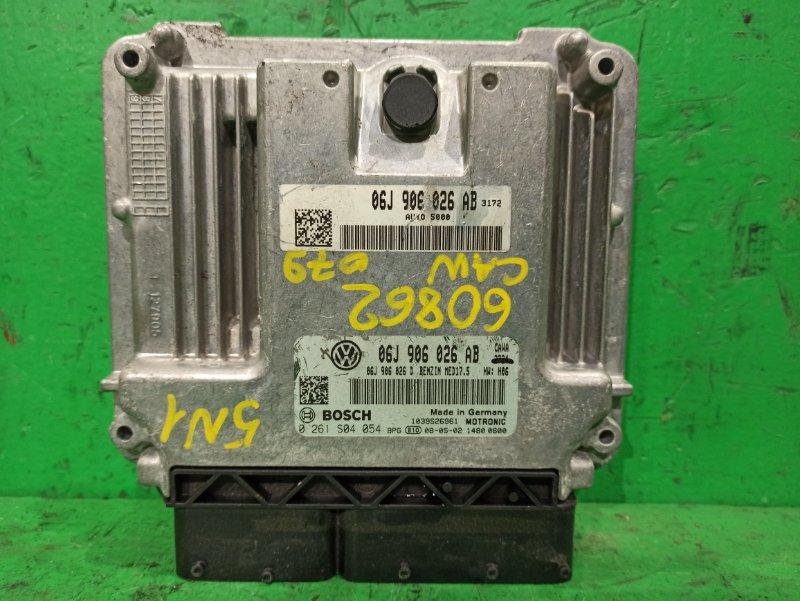 Блок управления efi Volkswagen Tiguan 5N1 CAW 06J906026AB