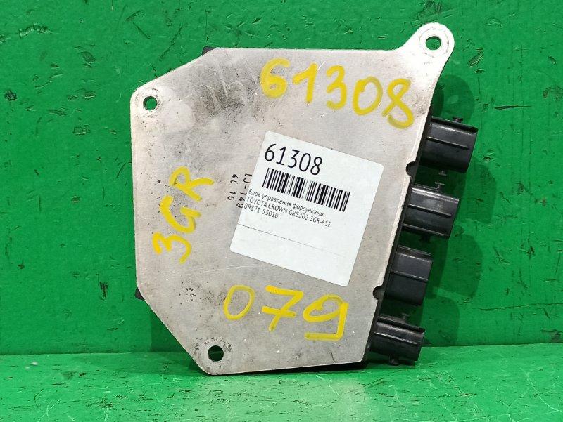 Блок управления форсунками Toyota Crown GRS202 3GR-FSE