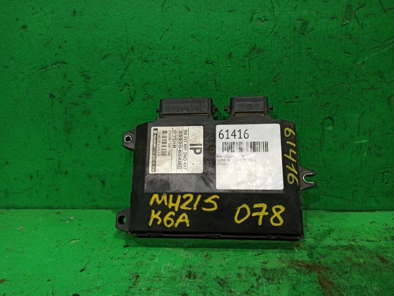 Блок управления efi Suzuki Wagon R MH21S K6A 33920-65KB0