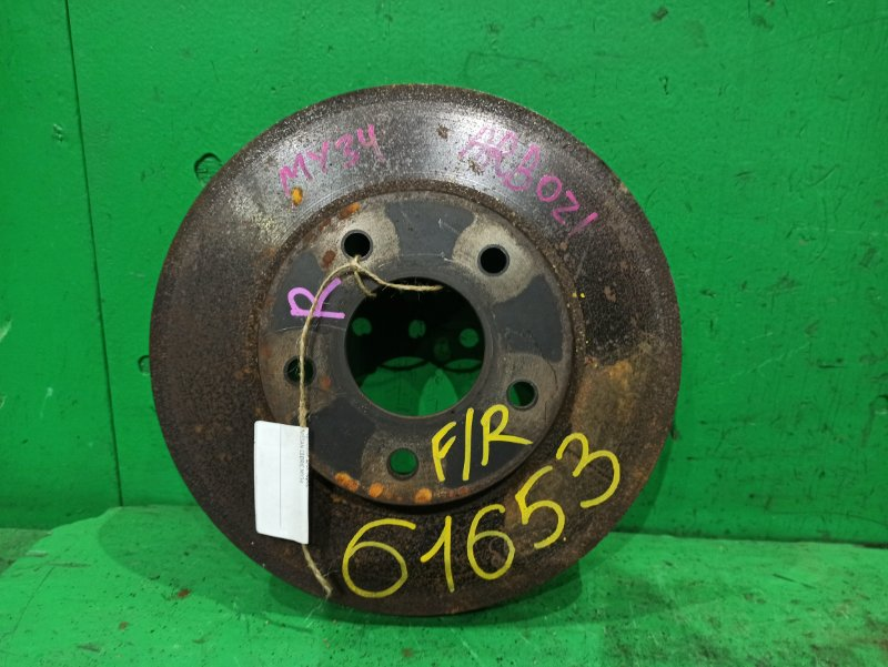Тормозной диск Nissan Cedric MY34 передний