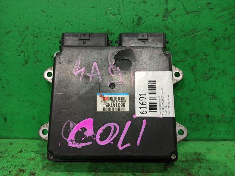 Блок управления efi Mitsubishi Colt Z23A 4A91 8631A745