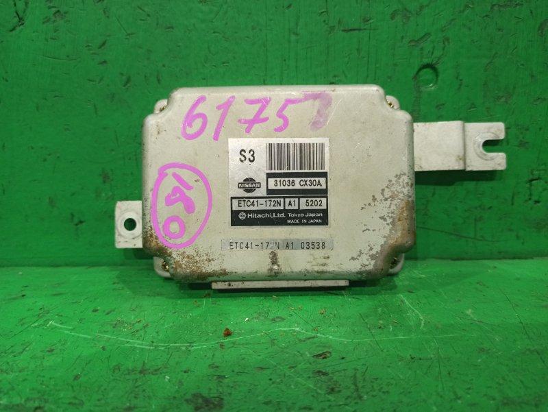 Блок управления автоматом Nissan Serena TC24 QR20DE 31036-CX30A