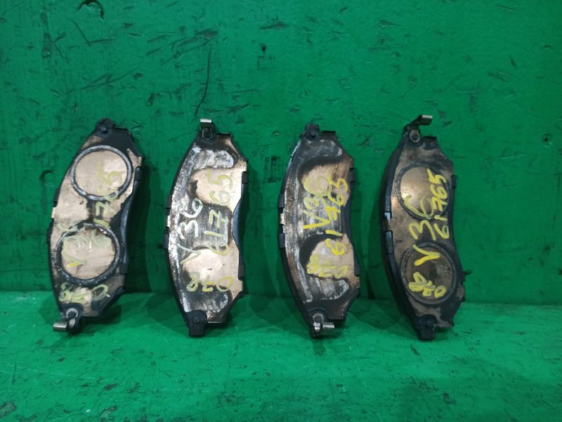 Тормозные колодки Nissan Skyline V36 переднее