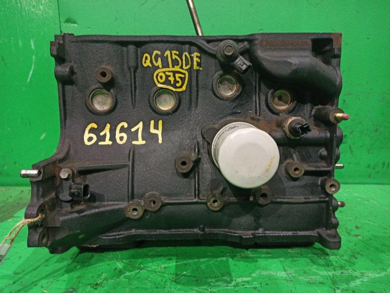 Блок двигателя Nissan Wingroad WFY11 QG15DE 447990