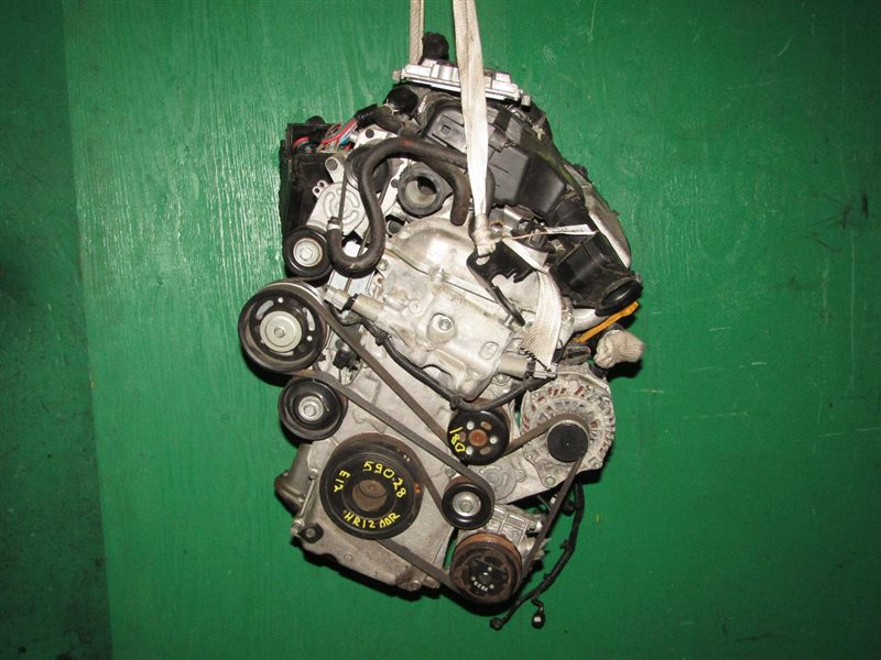Двигатель Nissan Note E12 HR12DDR 127422A