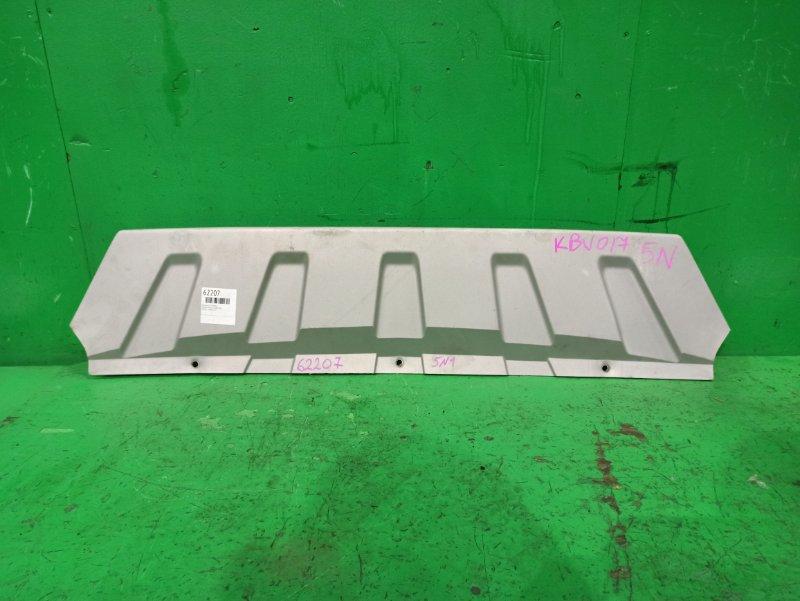 Накладка бампера Volkswagen Tiguan 5N1 передняя нижняя 5N0807532