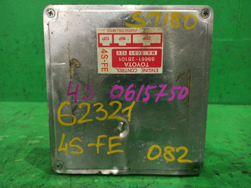 Блок управления efi Toyota Carina Ed ST180 4S-FE